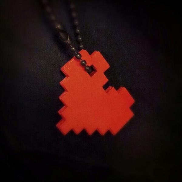 Paper Pixel Heart 03